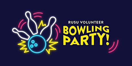 RUSU Volunteers: Bowling Party! tickets