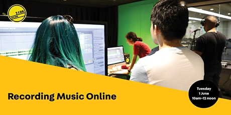 Recording Music Online tickets
