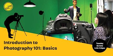 Photography 101: Basics tickets