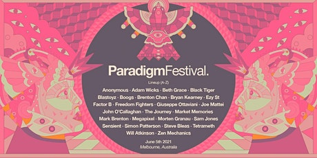 Paradigm Festival 2021(Sunday) tickets
