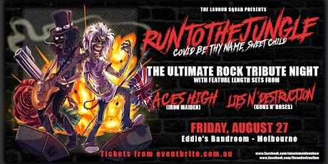 Run To The Jungle - MELB - Fri Aug 27 tickets