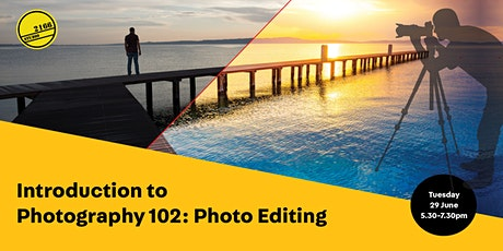Photography 102: Photo-Editing tickets