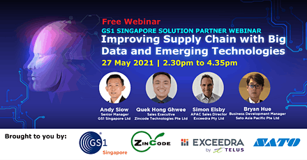 [Free Webinar] Improving Supply Chain with Big Data & Emerging Technologies tickets