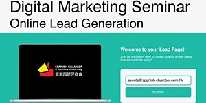 Digital Marketing Seminar: Online Lead Generation