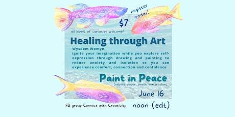 Healing through Art - Paint in Peace tickets
