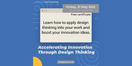 Accelerating Innovation Through Design Thinking tickets