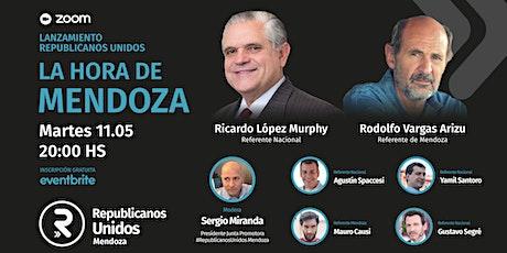 Lanzamiento Republicanos Unidos - La hora de Mendoza entradas