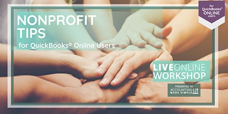 Nonprofit Tips for QuickBooks Online Users tickets