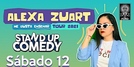 Alexa Zuart | Stand Up Comedy | Cuernavaca boletos