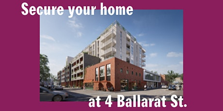 4 Ballarat St. Brunswick  - Release Weekend tickets