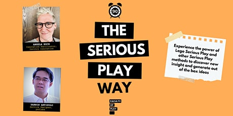 The Serious Play Way (Virtual) - A 90 minute intro Tickets