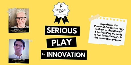 Serious Play for Innovation (Virtual) - 5th Edition tickets