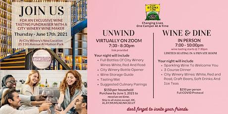 Camp Bronx Fund Fundraiser - City Winery Wine Tasting tickets