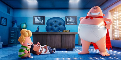 Family-Movie Night | C captain Underpants tickets