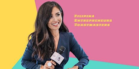 Entrepinayship Filipina Entrepreneurs Toastmasters Group tickets