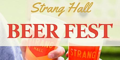 Strang Hall Beer Fest tickets