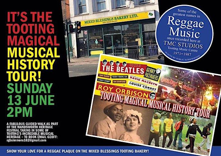 Tooting  Magical Musical History Tour! image