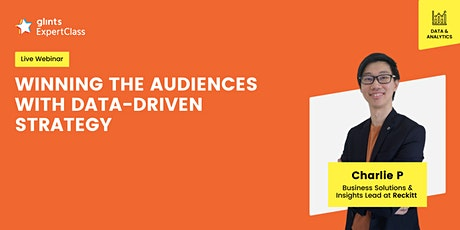GEC International - Winning the Audiences with Data-Driven Strategy tickets