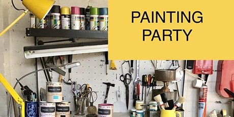 PAINTING PARTY!  - Paint your own piece! tickets