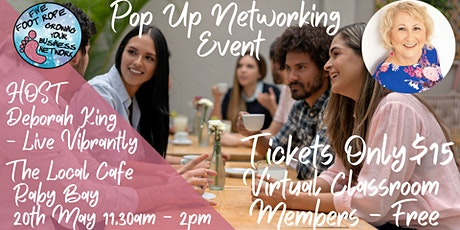 Five Foot Rope Pop Up Networking Event tickets