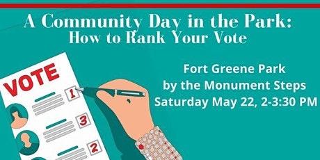 Community Day in the Park: How to Rank Your Vote tickets
