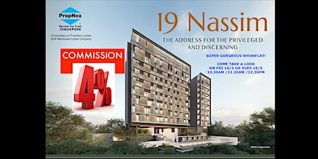 It's Nassim! Your Chance to visit the Gorgeous Showflat! tickets