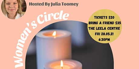 Dropping the Mask-  Women's Circle  with Julia Toomey tickets