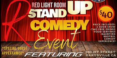 Red Light Comedy May 28th tickets