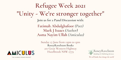 Refugee Week 2021 - Unity: We're Stronger Together tickets