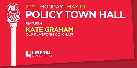 Policy Town Hall with Kate Graham tickets