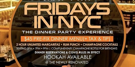FRIDAYS IN NYC: THE DINNER PARTY EXPERIENCE tickets