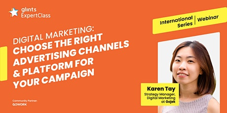 GEC International - Choose the Right Advertising Channels for Your Campaign tickets