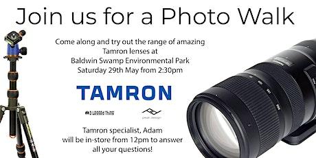 Photo Walk with Tamron at Baldwin Swamp Environmental Park tickets