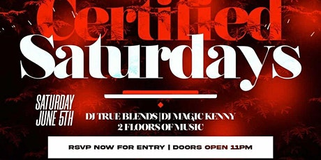 The Re grand opening of certified Saturdays at katra tickets