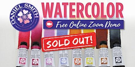 Free Daniel Smith Watercolor Zoom Demo - North Boston tickets