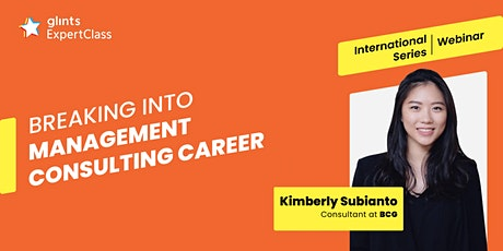 GEC International - Breaking into Management Consulting Career tickets