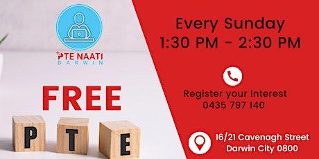 FREE PTE Workshop tickets