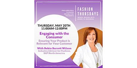 Fashion Thursdays with Robin Barrett Wilson tickets