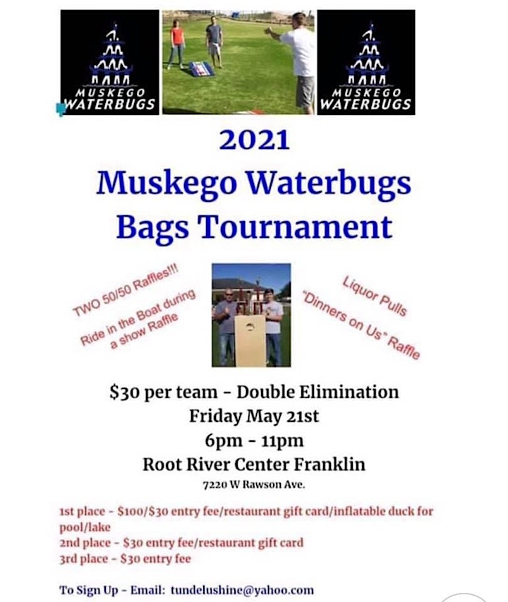 2021 Muskego Water Bugs Bags Tournament image