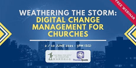 [Free Webinar] Digital Change Management for Churches tickets