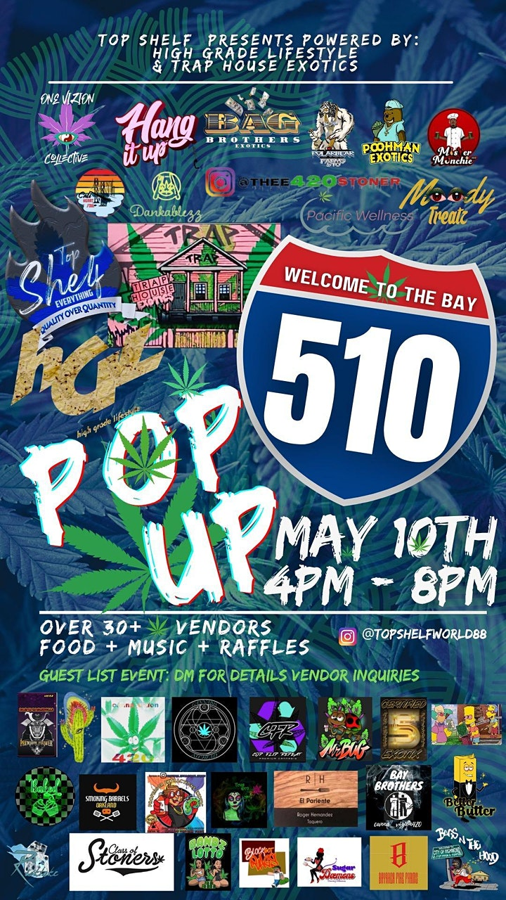 Top Shelf Presents 510 Day image