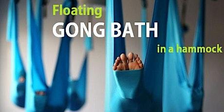 Floating GONG BATH in a hammock tickets