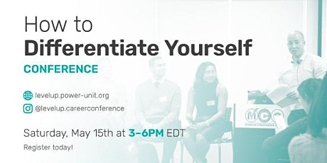 How to Differentiate Yourself as a Candidate! tickets
