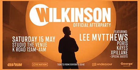 Wilkinson Official Afterparty ft. LEE MVTTHEWS | Sat 15 May @ STUDIO tickets