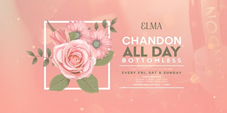 Chandon ALL DAY Bottomless at Elma tickets