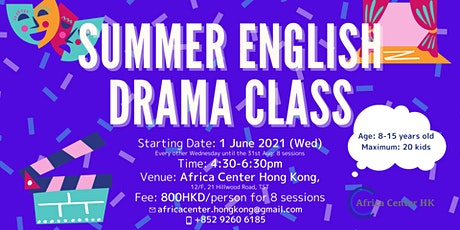 Summer English Drama Class tickets