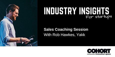 Industry Insights - Sales Coaching Session tickets