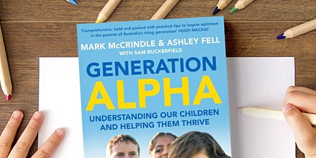 Generation Alpha Book Launch tickets