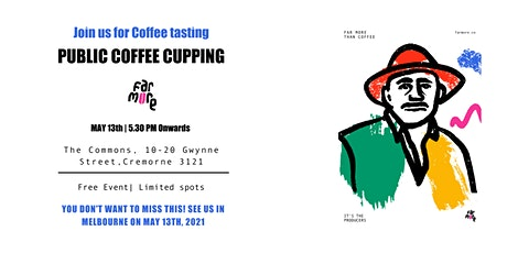 Far More Presents : Public Coffee Cupping in Melbourne tickets