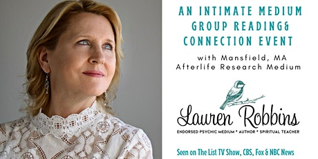 Online - An Intimate Medium Group Connection Event with Lauren Robbins tickets